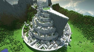 Карта Minas Tirith - Now with Quartz blocks