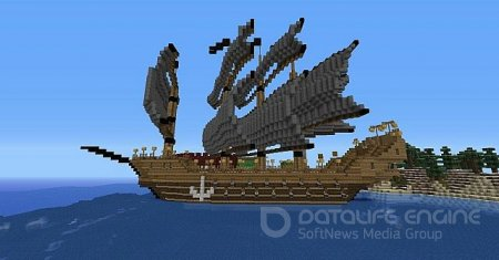 Карта The ultimate ships collection для minecraft