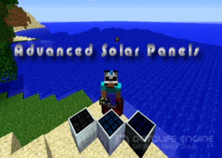Мод Advanced Solar Panels для minecraft 1.6.4 [SSP/SMP]