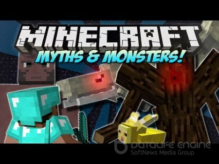 Мод Myths and Monsters для minecraft 1.7.2