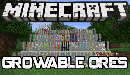 Мод Growable Ores для minecraft 1.5.2