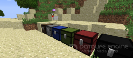 Мод Colored Chest для minecraft 1.6.4
