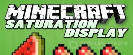 Мод Saturation Display для minecraft 1.8