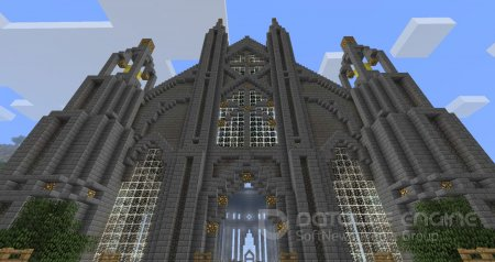Карта Cathedral - First Try для minecraft