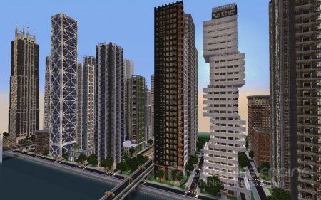 Карта The City of Crafton для minecraft