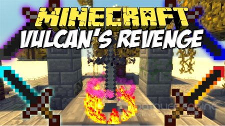 Мод Vulcan's Revenge для minecraft 1.7.10