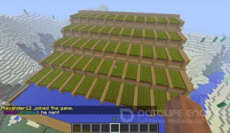 Мод Automatic Wheat Farmer для minecraft 1.6.4
